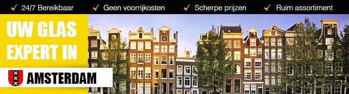 Glaszetter Amsterdam en omstreken